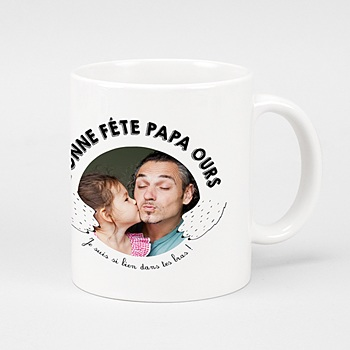 Mug Personnalisé - Daddy Ours - 0