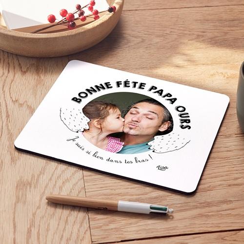 Tapis de souris personnalisé - Daddy Ours 47906