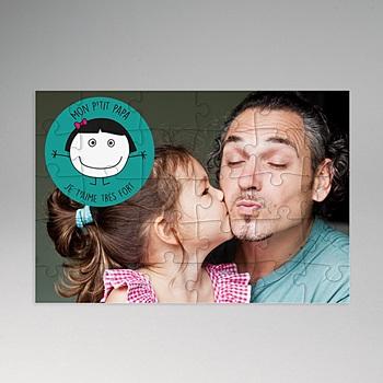 Puzzle personnalisé - Puzzle Daddy - 0