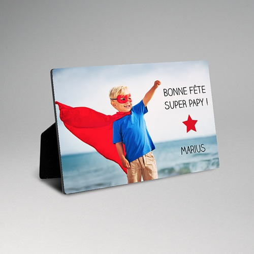 Cadre photo en bois - Super Dad 47922 thumb
