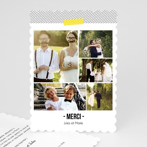 Tous les Remerciements Mariage - Fluo 48048