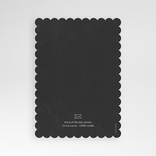 Faire-Part Naissance Fille - Tableau noir 48357 preview