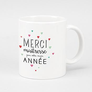 Mug Personnalisé - Merci_maitresse - 0