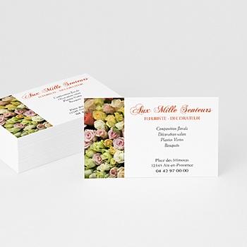 Acheter carte de visite fleuriste-décorateur