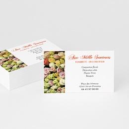 Carte de Visite Professionnel Fleuriste-décorateur