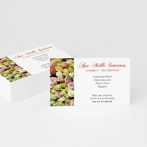 Carte de Visite - Fleuriste-décorateur 4857 thumb