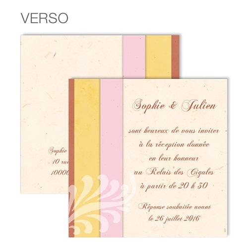 Carte Invitation Mariage - Une belle histoire d'amour 48614