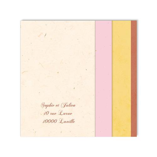 Carte Invitation Mariage - Une belle histoire d'amour 48616 preview