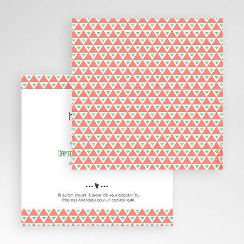Faire-Part Mariage Pochette carré - Cupidon 48690 thumb