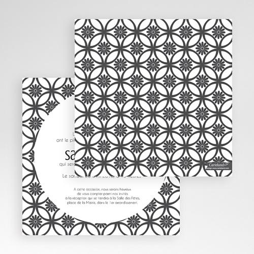 Faire-Part Mariage Pochette carré - Ispahan 48740 preview