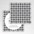 Faire-Part Mariage Pochette carré - Ispahan 48740 thumb