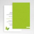 Faire Part Mariage Pochette rectangulaire - Papillon Pop 48742 thumb