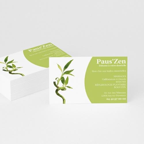Carte de Visite - Bambou  Zen 4877 thumb