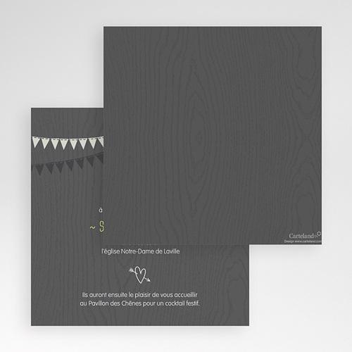 Faire-Part Mariage Pochette carré - Soir d'Eté 48783 preview