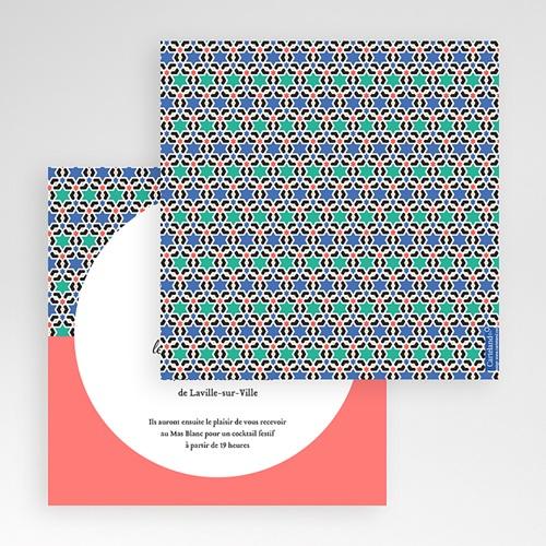 Faire-Part Mariage Pochette carré - Oriental Style 48831 preview