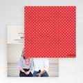 Faire-Part Mariage Pochette carré - Rouge Vintage 48897 thumb