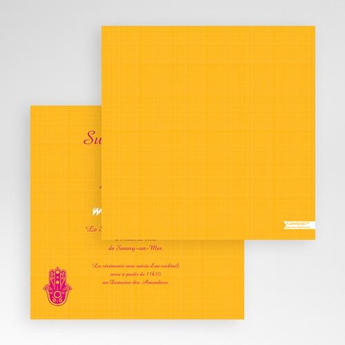 Faire-Part Mariage Pochette carré - Jaipur 48911 preview