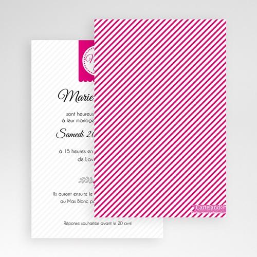 Faire Part Mariage Pochette rectangulaire - Simple et chic 48945 preview