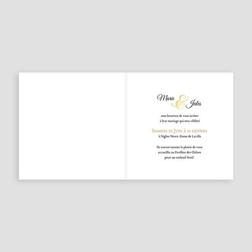 Faire Part Mariage chic - Esperluette jaune 49023 preview