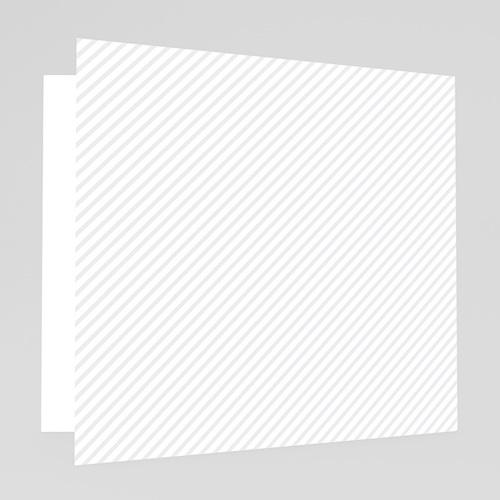 Faire-Part Mariage Personnalisés - Diagonale grise 49036 preview