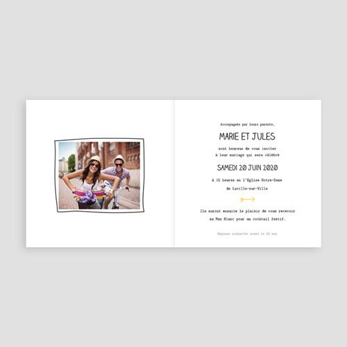 Faire-Part Mariage Personnalisés - Cadrage 49041 preview