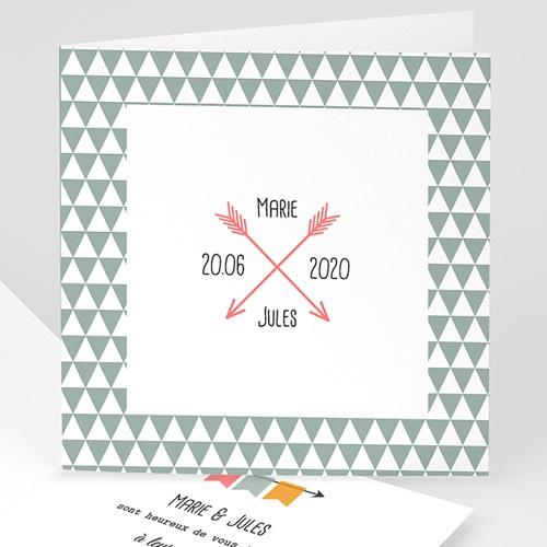Faire-Part Mariage Personnalisés - Fléchés 49064