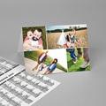 Calendrier de Poche 4 photos, vacances scolaires et jours fériés