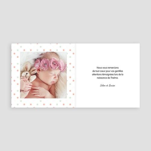 Remerciements Naissance Fille - Mon etoile 49150 preview
