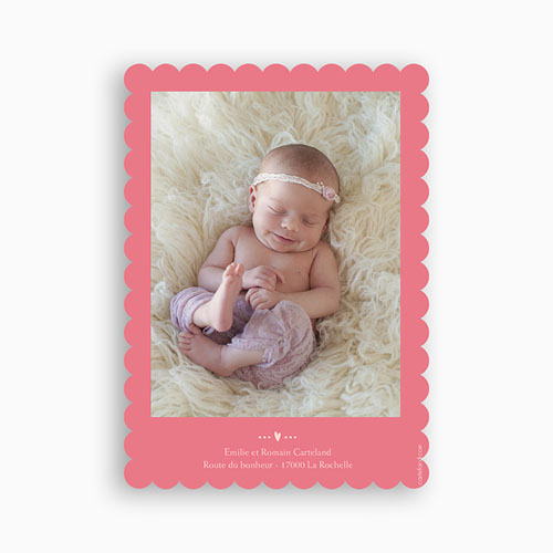 Faire-Part Naissance Fille - Princesse Moderne 49165 preview