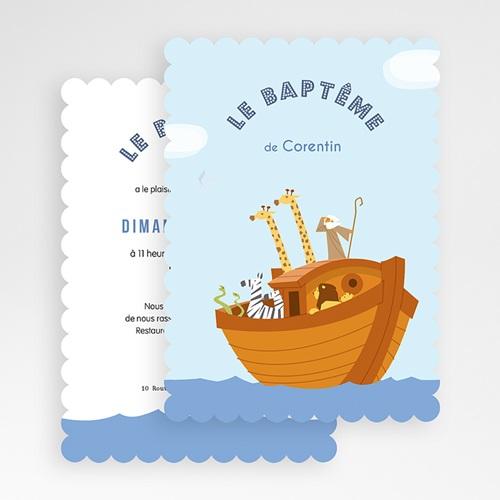 Faire-part Baptême Garçon - Noé 49172 preview