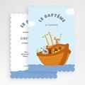 Faire-part Baptême Garçon - Noé 49172 thumb