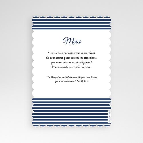 Carte remerciement confirmation - Confiance, merci 49243 thumb