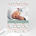 Faire-Part Naissance Fille - Liberty Baby 49263 thumb