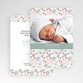 Faire-Part Naissance Fille - Liberty Baby 49265 thumb