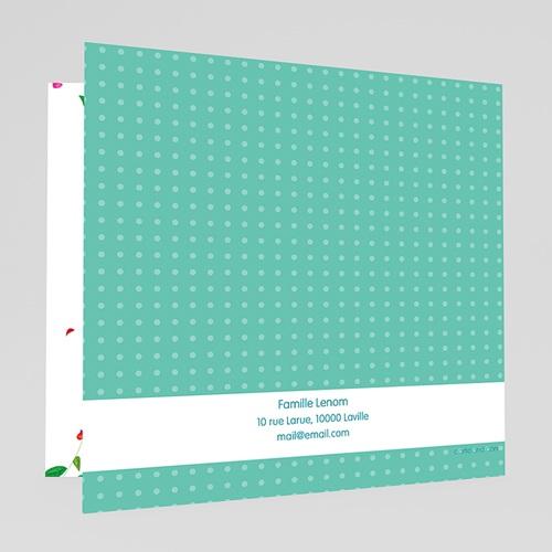 Faire-Part Naissance Jumeaux - Ecureuils 49342 preview