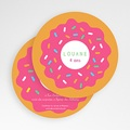 Carte invitation anniversaire fille Donut party gratuit
