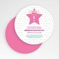 Carte invitation anniversaire fille Princesse et Fée gratuit