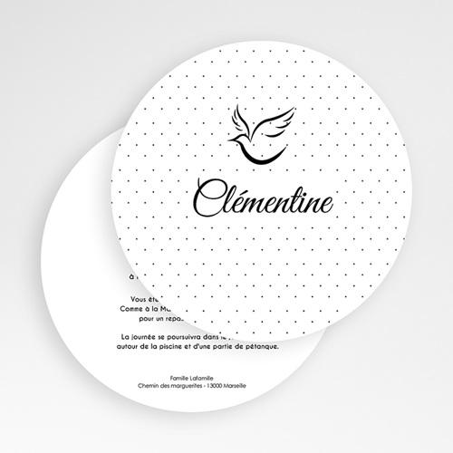 Invitation Confirmation  - Touches de noir 49468 thumb