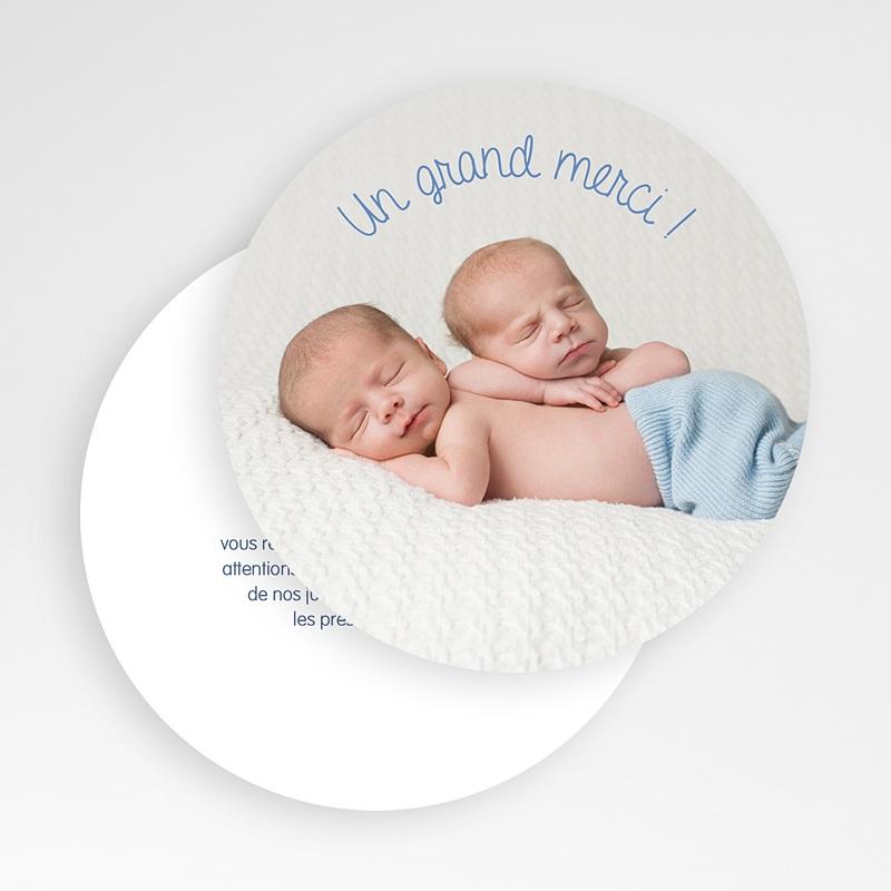 Carte remerciement naissance jumeaux Souris jumeaux gratuit