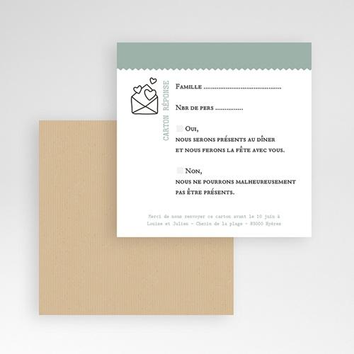 Cartons réponse Nature Graphic gratuit