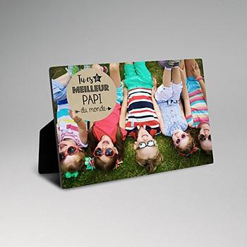 Cadre photo en bois - Super grand-père - 0