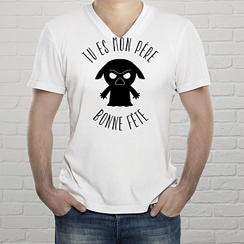 Tee-shirt homme my father sur mesure