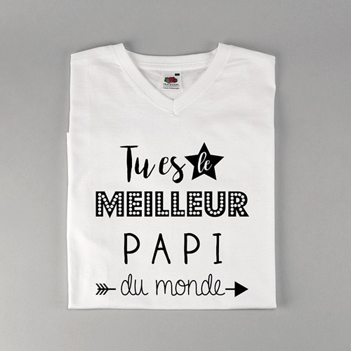 Tee-shirt homme Best Papi