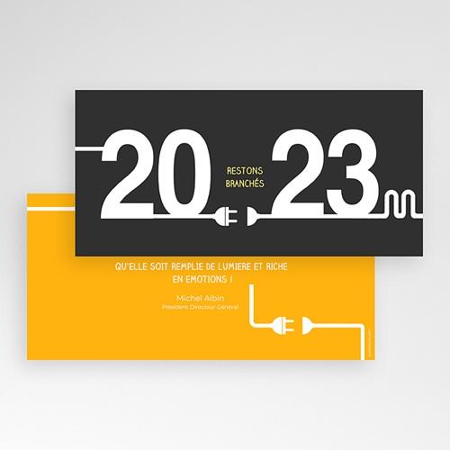 carte de voeux entreprise originale Carte de Voeux Entreprise Connexion | Echantillon offert | Carteland