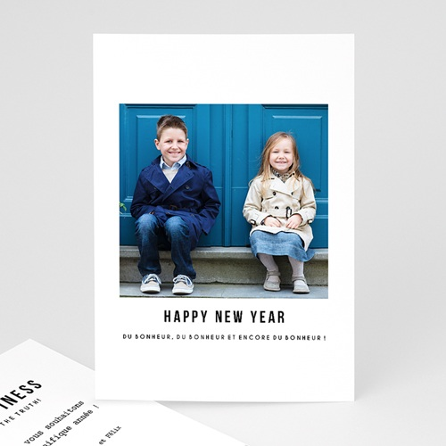 Carte de Voeux 2018 - Happy 49898