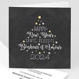 Voeux Pro Nouvel An Sapin de Voeux