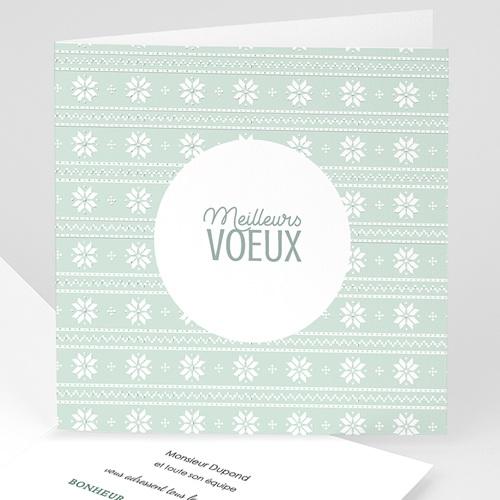 Carte de Voeux Entreprise Winter Pattern
