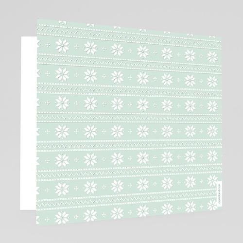 Carte de Voeux Entreprise Winter Pattern gratuit
