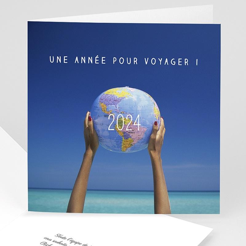 Carte de Voeux Entreprise Voyage !