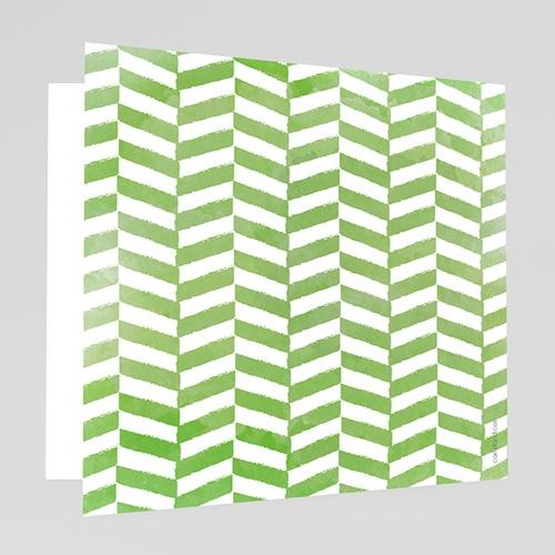 Faire-Part Mariage Personnalisés - Vert & Blanc 50210 preview